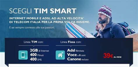 telecom fisso mobile tim smart mobile e fisso telecom in unica soluzione a 39