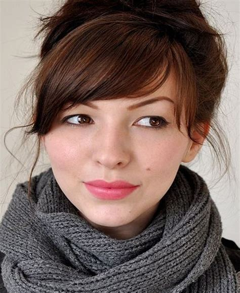 heavy side bang hairstyles medium length hairstyles with bangs 2016 hairstyles