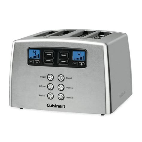 4 Slice Toaster Sale cuisinart stainless steel 4 slice toaster on sale now