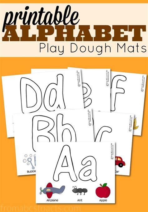 printable playdough mats alphabet best 25 play dough mats ideas on pinterest playdough