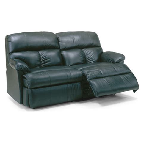 Discount Reclining Sofa Flexsteel 3098 61 Triton Leather Studio Reclining Sofa Discount Furniture At Hickory Park