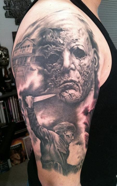 michael myers tattoo designs michael myers tattoos paradise gathering