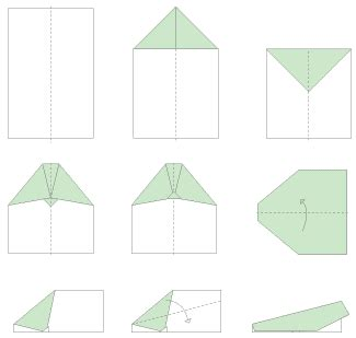 Origami Airplane Easy - printable origami templates 9jasports