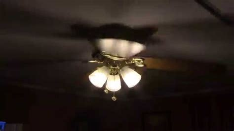 52 quot hton bay huntington ii ceiling fan youtube