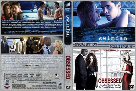 download film obsessed bluray swimfan obsessed double feature movie dvd custom