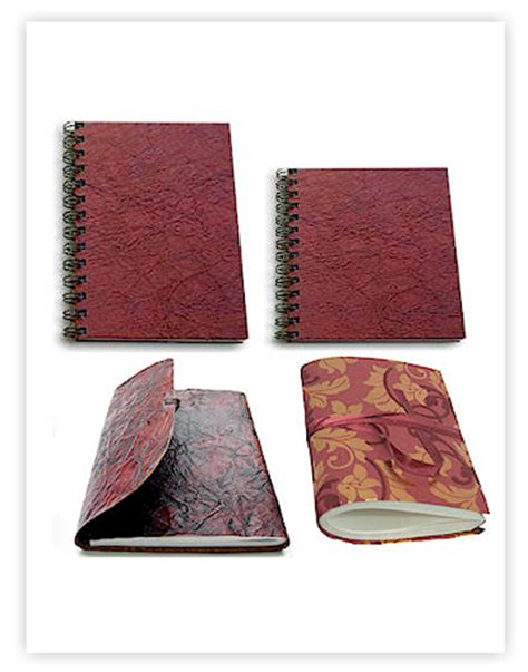 Handmade Paper Items - notebooks journals buy handmade paper products wholesale