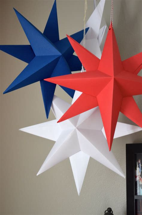 Paper Decorations Make Your Own - diy hanging paper kit make your own large folded