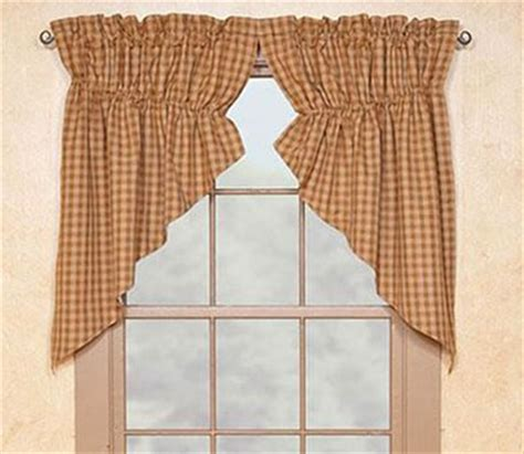 prairie curtains by park designs sturbridge gathered swag mustard short at primitive home