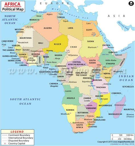 map of africa countries modern day political map search africa
