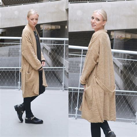 Nena Oversized Jacket nena f mango robe coat zara sweatshirt asos zara chain boots the robe coat lookbook