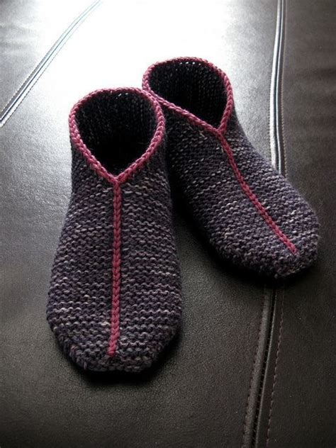 easy knit slipper pattern slipper knitting patterns in the loop knitting