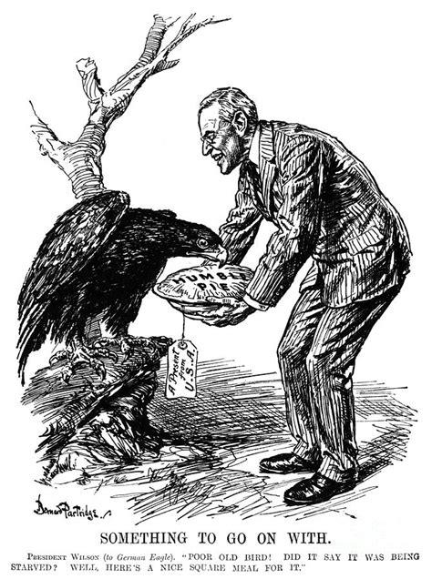 Wilson Cartoon, 1915 Photograph by Granger