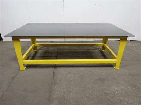 welding bench top steel welding work bench assembly layout table 96 quot x 48 quot 3