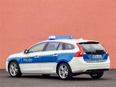 is a volvo a german car german recruits volvo v60 diesel hybrid patrol cars