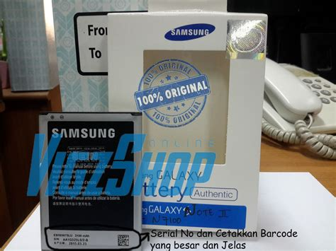 Baterai Batre Battery Samsung Galaxy Note 5 N920i Original jual baterai battery samsung galaxy note 2 n7100 original