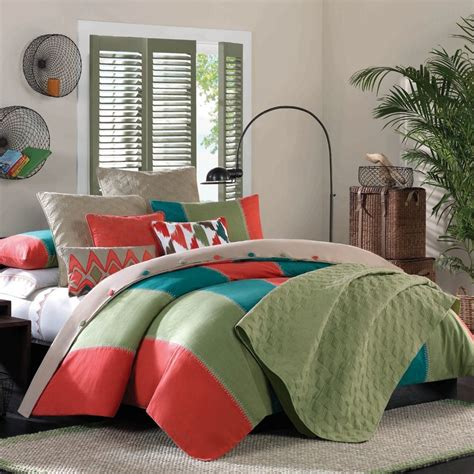 teal and orange comforter orange bedding sets has one of the best kind of other is