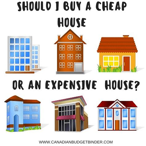 buying a cheap house should i buy a cheaper or more expensive house the saturday weekend review 181