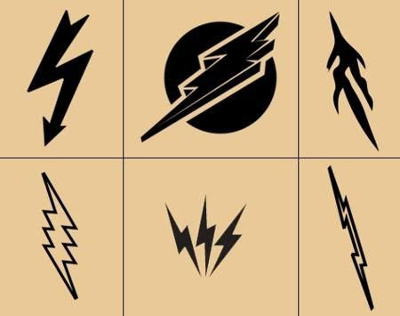 lightning bolt tattoo meaning lightning bolt meaning and really creative design