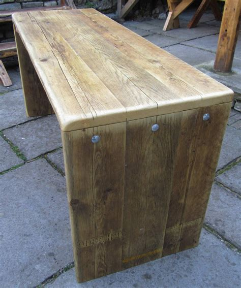 Handmade Reclaimed Furniture - desks chunky studio furniture handmade in somerset