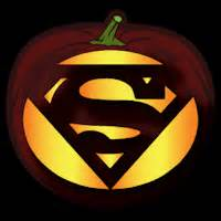 superman logo co stoneykins pumpkin carving patterns and