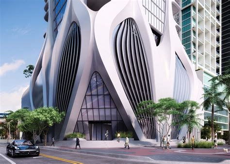 one thousand one thousand museum zaha hadid miami e architect