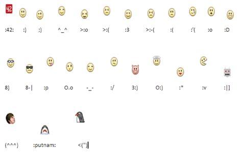 como hacer caritas en facebook taringa emoticones para el chat de facebook info taringa