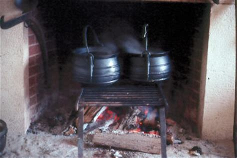 cooking open hearth fort national historic site