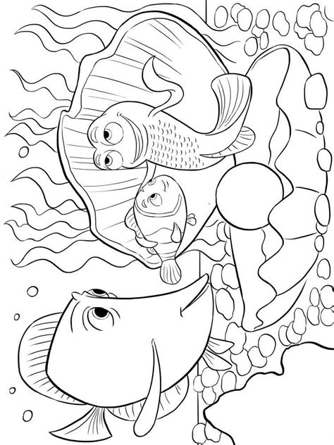 nemo christmas coloring pages finding nemo coloring pages for kids free printable