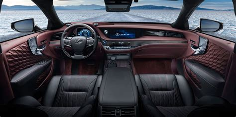 lexus interior 2018 lexus ls500h revealed photos caradvice