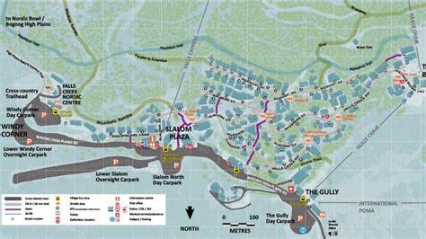 Maps   Falls Creek   www.fallscreek.com.au Victoria's