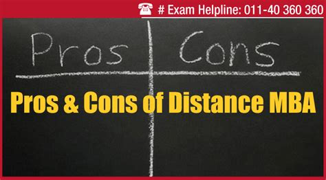Pros Of Getting Mba by Distance Mba Pros And Cons To Check Before You Enroll