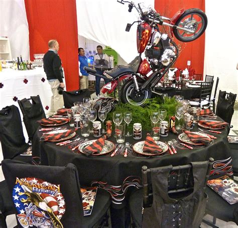 harley davidson centerpieces motorcycle centerpiece ideas motorcycle review and galleries