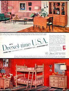 1960s drexel perspective dining room furniture ad perspective search and google on pinterest