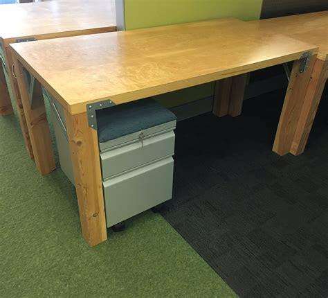 Desk With Doors That by Door Desk New Computer Desk Made From Reclaimed 6