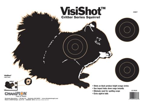 printable shooting targets squirrel chion visishot critter series squirrel targets 16 x 11