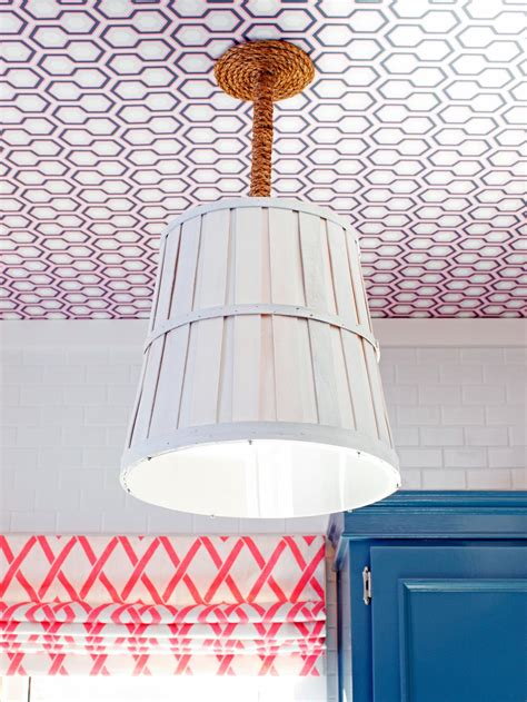 how to make a light fixture from a bushel basket how tos