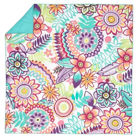 Floral Quilt Keala Floral Quilt Sham Pbteen