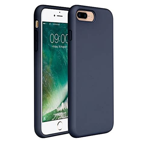 Casing Baseus Jelly Shockproof Silicone Iphone 8 Iphone 7 iphone 8 plus iphone 7 plus 5 5 inch navy blue 24h phone