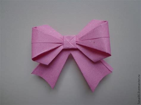 Origami Present Bow - cool creativity how to diy origami paper gift bow