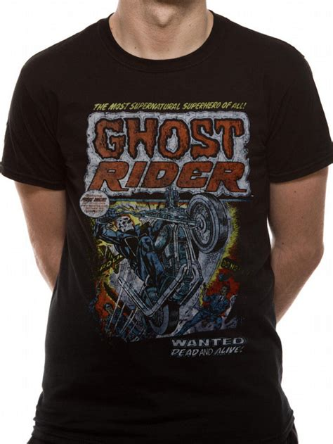 T Shirt Walet Riders Clothing ghost rider wanted dead t shirt tm shop