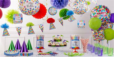 Rainbow Bright Decorations by Rainbow Dot Supplies Rainbow Birthday