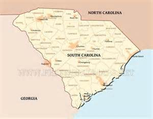 map of south carolina questions and answers