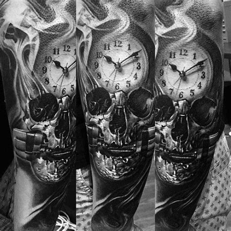 50 smoke tattoos for men manly matter to spirit designs