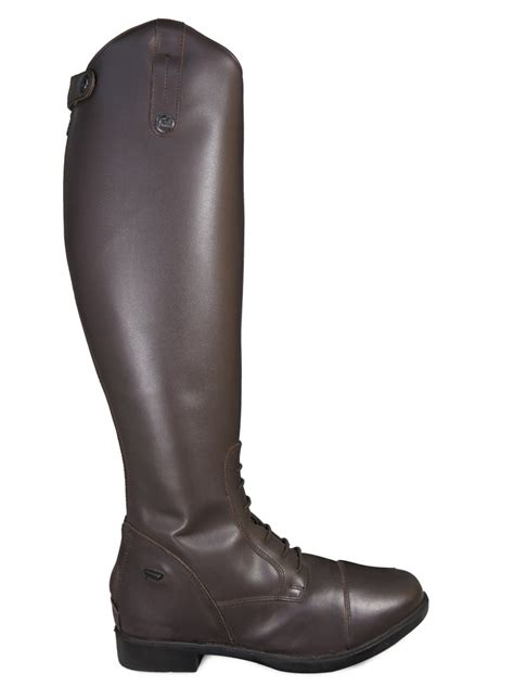 mens black riding boots ladies mens black brown horse riding show jumping leather