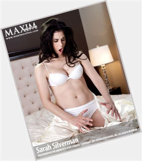 sarah silvermans hairy body sarah silverman official site for woman crush wednesday wcw