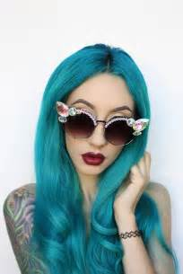 turquoise color hair 5 shades of blue hair color best hair color trends 2017