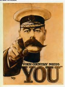 recruitment posters during wwi
