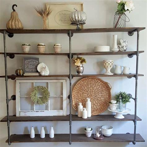 diy industrial pipe shelves step  step tutorial