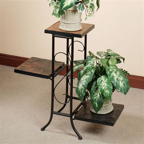 Planter Stands Indoors porterville indoor outdoor tiered plant stand