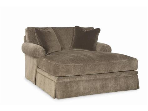 awesome   comfortable double chaise lounge indoor  chaise furnitures  double chaise
